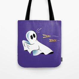A Fearful Phantom (Purple) Tote Bag