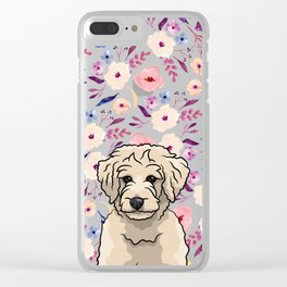 Floral Dood Clear iPhone Case