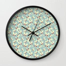 Sweet Butterflies Wall Clock