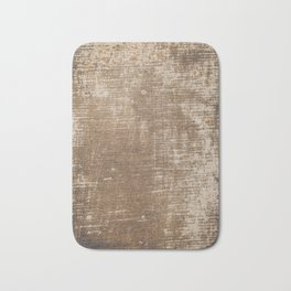 Cement Weathered Brown Abstract Photograph Bath Mat