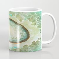 minerals Mugs featuring MINERALISTIC by Catspaws
