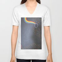 prism V-neck T-shirts featuring Prism by kaylinicole
