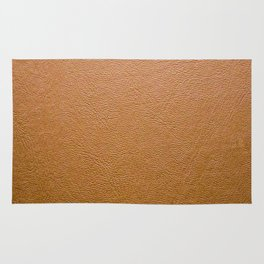 Real Leather Design Rug