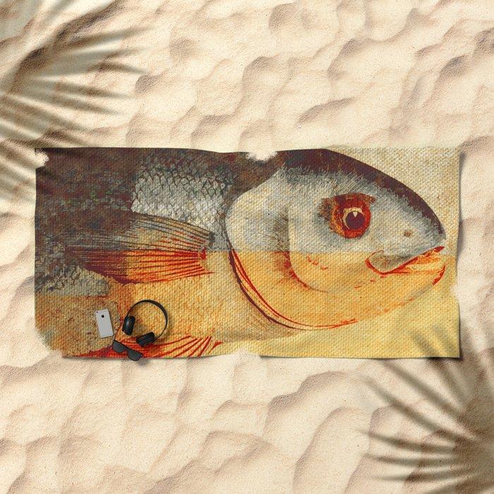Piscibus 7 Beach Towel