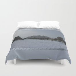 The Blowing Cold Duvet Cover