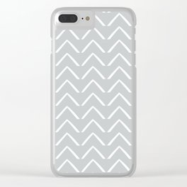 BIG ZIGZAG Clear iPhone Case