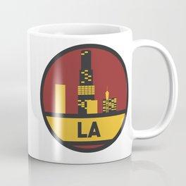 Los Angeles patch Coffee Mug