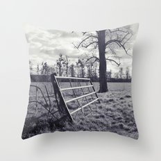 un(miti)gated... Throw Pillow
