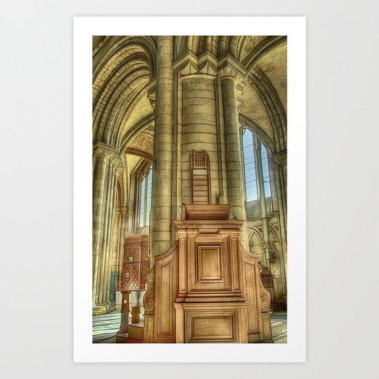 Pulpit Art Print