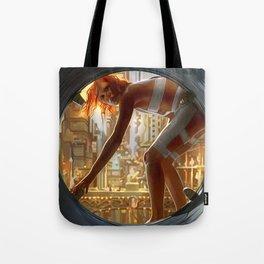 Leeloo Fifth Element Tote Bag