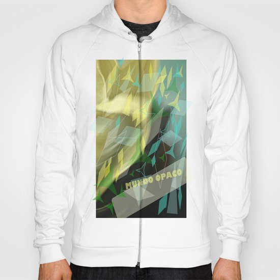 Opaque world: garment in the air. Hoody