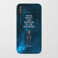 ripley iPhone & iPod Cases featuring Alien - Ellen Ripley Quote by V.L4B