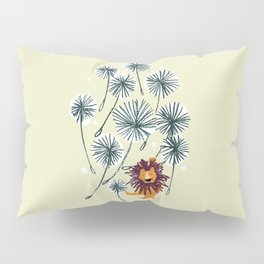Lion on dandelion Pillow Sham