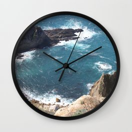 California - Pacific Coast Highway - Ocean Wall Clock