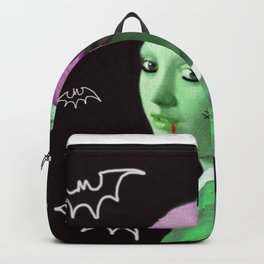 Zombie with a pearl earring Backpack