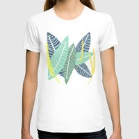 coconut wishes T-shirts featuring Coconut Blossom by Melanie Hodge