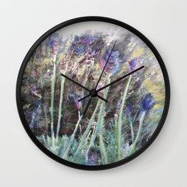 Lavender Blue 2 Wall Clock