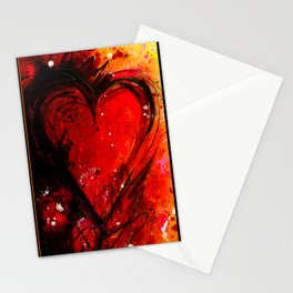 Heart's Desire No.03 by Kathy Morton Stanion Stationery Cards