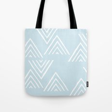 The Mountain Top - in Sky Tote Bag