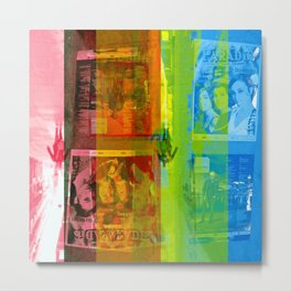 Which suggests offerings as inverse proportionals. [CMYK] Metal Print