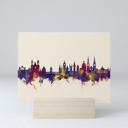 Lucerne Switzerland Luzern Skyline Mini Art Print