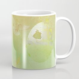 The angel and the dove of the peace Coffee Mug