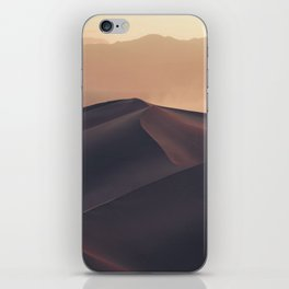 Poetic Sand Mountains Desert (Color) iPhone Skin