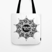 brasil Tote Bags featuring Maia Brasil by Splund