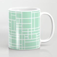 Map Outline Mint Mug