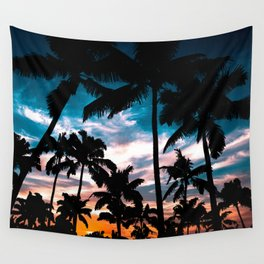 Palm trees dream Wall Tapestry