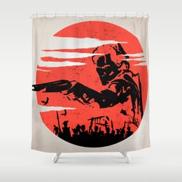 Ash Shower Curtain