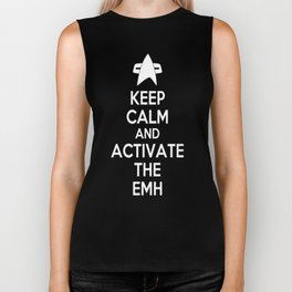 Keep Calm and Activate the EMH Biker Tank