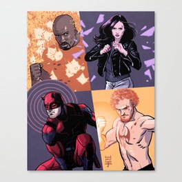 Defenders Canvas Print
