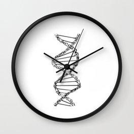 Bikechain DNA Fixie Singlespeed Shirt Racebike  Wall Clock