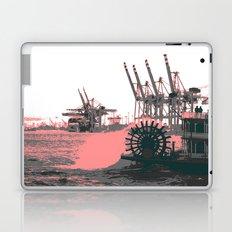 paddle wheel in hamburg Laptop & iPad Skin