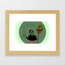 WickedHill Framed Art Print