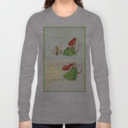 Get Well Soon- Poor Red Dragon  Long Sleeve T-shirt
