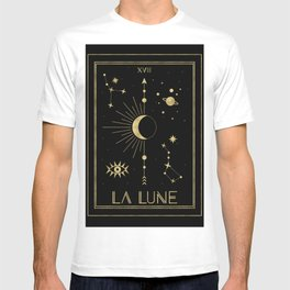 The Moon or La Lune Gold Edition T-shirt