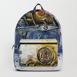 Steampunk Gun Backpack