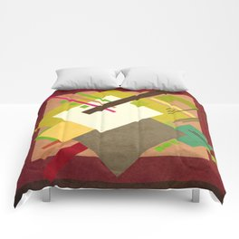 Geometric illustration 47 Comforters