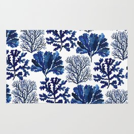 Sea life collection pattern Rug