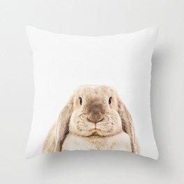 Bunny Rabbit Throw Pillow
