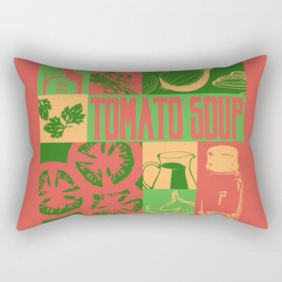Tomato Soup Rectangular Pillow