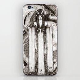 Dragon Priestess of the East iPhone Skin