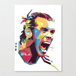 Gareth Bale WPAP 3 Canvas Print