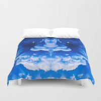 demon Duvet Covers featuring Thunderstorm Demon by digital2real