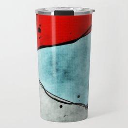 Angles of Textured Colors Travel Mug