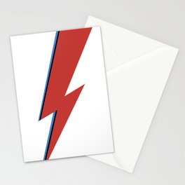Bowie Bolt Stationery Cards