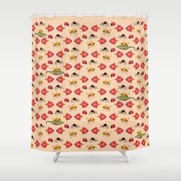 Killer lips Shower Curtain