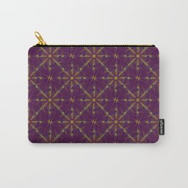 spiderweb pattern Carry-All Pouch
